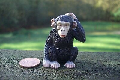 Yowie US Chocolate Brand Collectible Figurine: Chimpanzee Figure Yowies Figurine