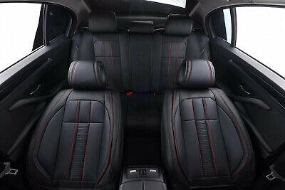 Grau eleganter Autositzbezug Sitzbezüge Schonbezüge Schonbezug aus Kunstleder