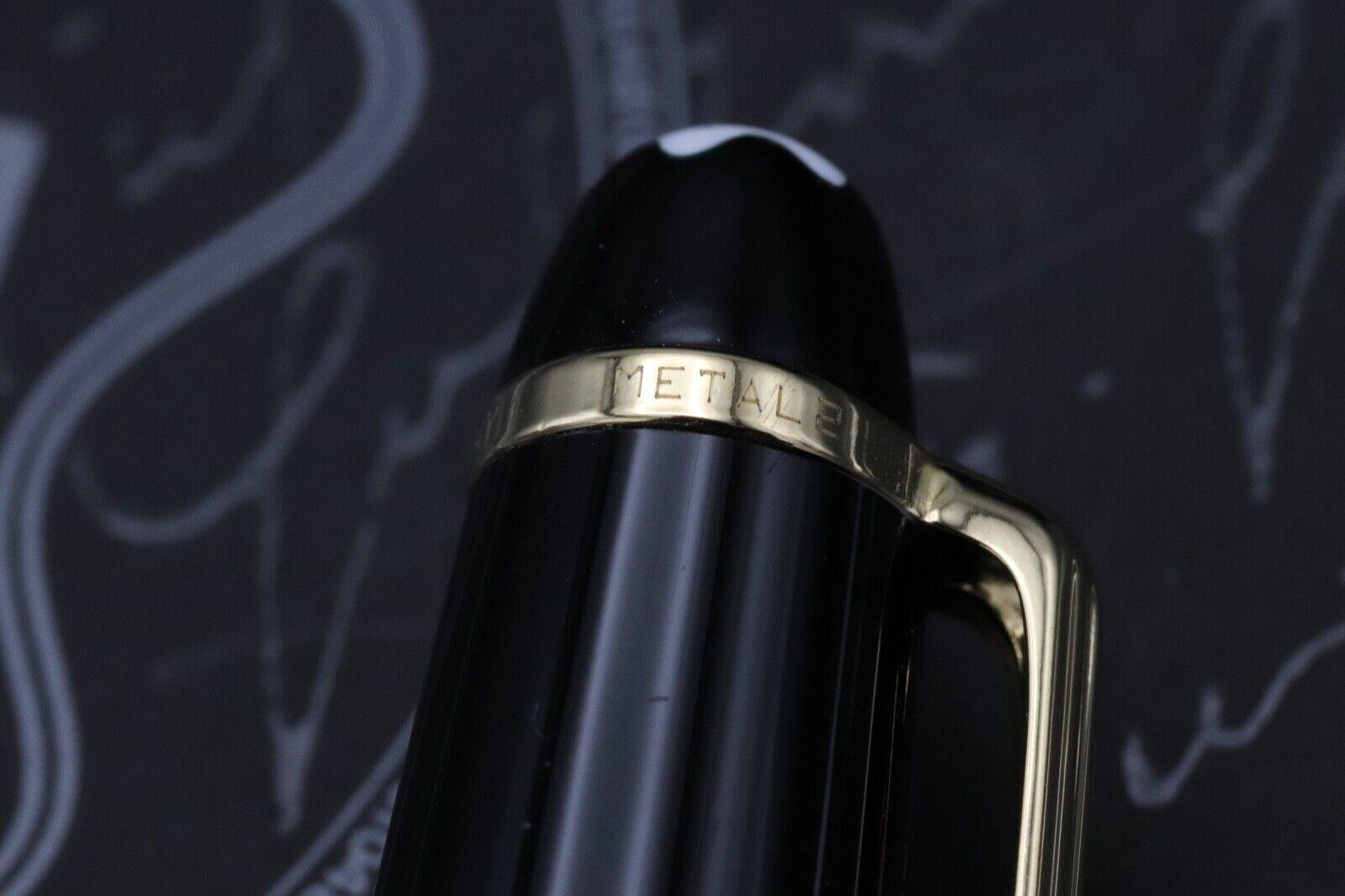 Montblanc Meisterstuck 144 Classique 'Wedding Pen' Fountain Pen 6