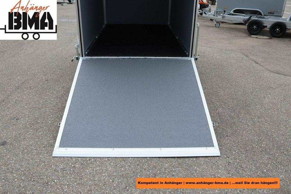 Hapert Koffer Anhänger Sapphire L-1 250x150x150 1500kg Auffahrkla in Tannheim