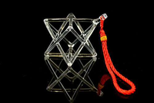 "crystal Merkaba pyramid crystal singing products 6"""