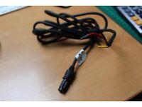 Neu Autohelm Raymarine ST50 2M Stromkabel 3 Stecker Rund Zu 3 Blanke Drähte D127