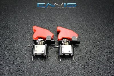 2 Pcs Toggle Switch On Off Rocker Red Led 12v 20 Amp Race Nitrous Eps-3015rd