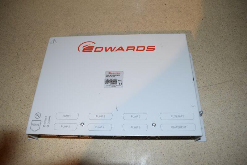 @@ EDWARDS TOOL INTERFACE BOX P/N D37902020