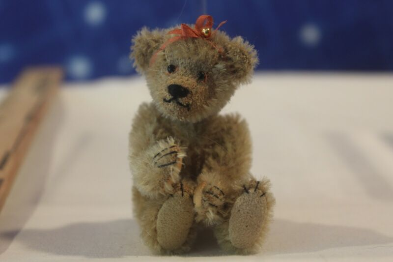 Doll House Miniature Adorable Jointed Teddy  #35