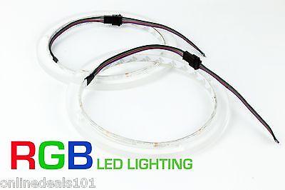 2pc RGB LED Hoparlör Yüzükler - JL Ses Deniz 7.7 M770 MX770 Delikli Mastercraft