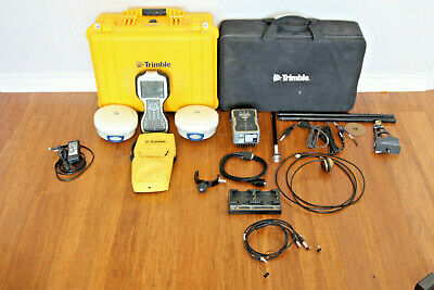 Trimble Dual R6 Model 2 Gps Gnss Glonass Rtk Survey Receiver Setup Tsc3 Tdl-450h