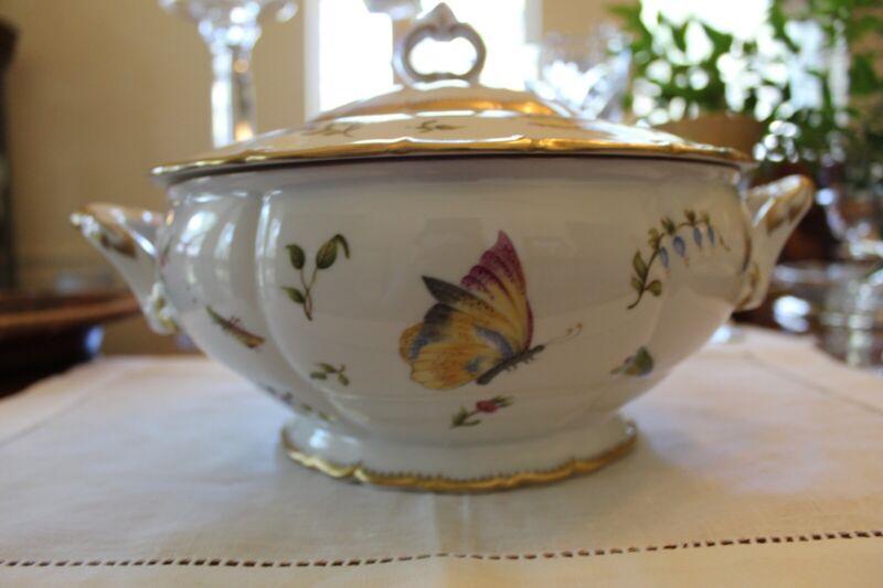 Anna Weatherley Tureen, Butterfly Meadow Pattern, Perfectly Beautiful