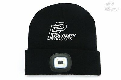 Hat Usb (LED BEANIE HAT - USB Rechargeable Camping Hiking Fishing Running Head Light Lamp)