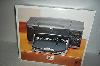 HP Photosmart P1215vm Printer USB Parallel IrDA LCD 1200dpi 1215vm  C84645A NEW