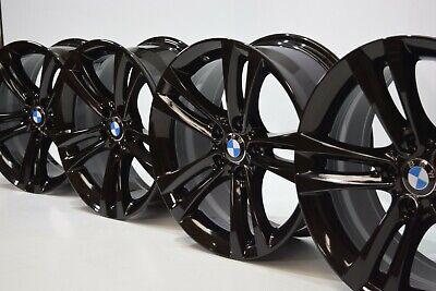 "18"" BMW 335i 328i 428i 330i Factory OEM wheels rims BLACK 2011-2018 18 71540"