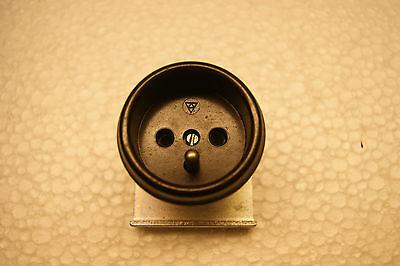 Einbausteckdose DDR  Schukosteckdose vermutlich aus einem Gerät.....