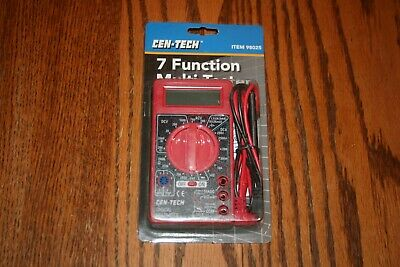Brand New Cen-tech 7 Function Multi-tester Or Electrical Multi-meter