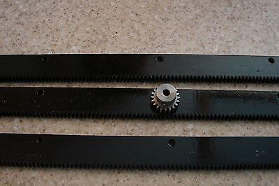 Cnc Plasma Table Mech Rack Gear 72 Rack 3x24pcs 14 20t Pinion Gear
