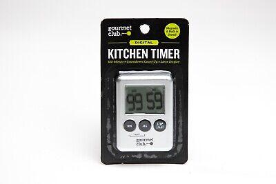 M55B3 | Digital Kitchen Timer - Gourmet Club - Large Display