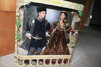 1998 ROMEO AND JULIET Barbie and Ken Giftset LE #19364 NRFB MINT