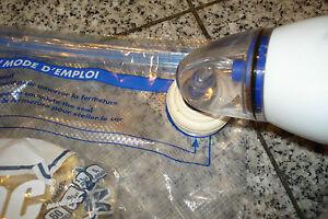 Reynolds Handi Vac Vacuum Food Sealer Adapter Use Er Zipper Top Bags