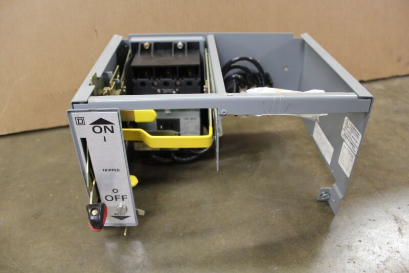 SQUARE D MCC BUCKET THERMAL MAGNETIC CIRCUIT BREAKER 40A FAP36040TF 5174529-012
