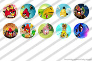 Angry Birds Bottle Cap Images