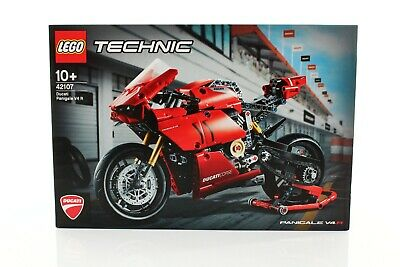 Lego Technic Model Riding Cycle Set 42107 Ducati Panigale V4 R - Brand New NSIB