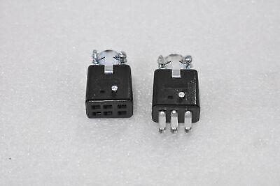 Cinch Jones P306ccts306cct 6-pin Plug Socket Power Connector Combo