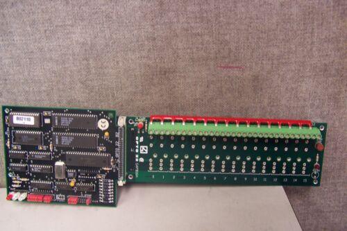 OPTO 22 G4PB16H PROGRAMMABLE LOGIC CONTROLLER WITH OPTO 22 B2 BRAIN BOARD