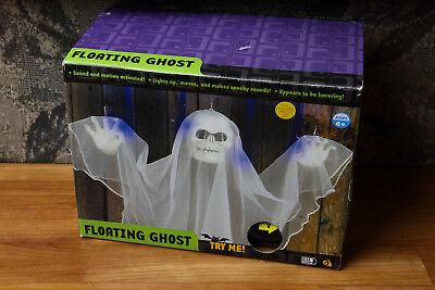 Gemmy Floating Ghost Works Lights, Sound, Movement 2004 Halloween Decoration - Gemmy Halloween Decorations