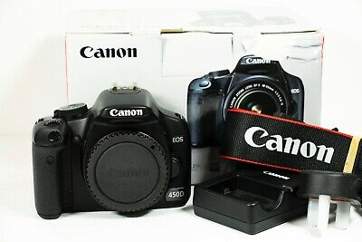 Canon EOS 450D Digital SLR Camera - Mint Condition - Very low Shutter Count 305