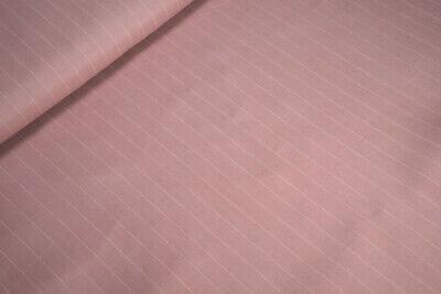 Tencel-twill (Tencel Twill Pin Stripe meet MILK Rouge by Metermeter 0,5m)
