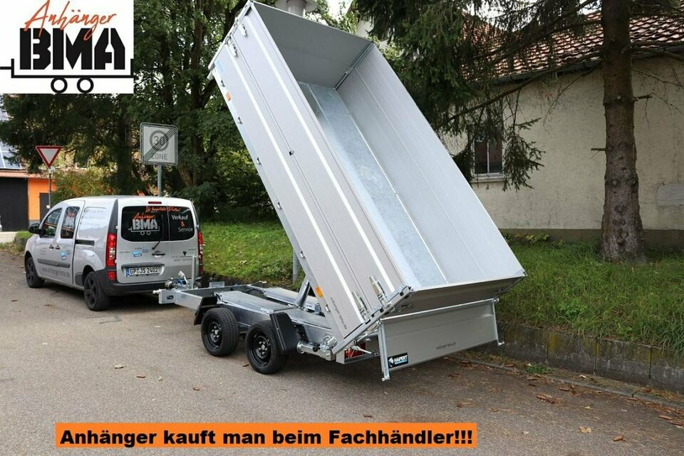 Hapert Anhänger Kipper HM-2 FERRO 335x180x40 3500kg Para,E+H, Auf in Mühlhausen im Täle