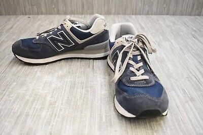 New Balance 574 Core WL574EN Classic Running Sneaker, Women's Size 9B, Navy