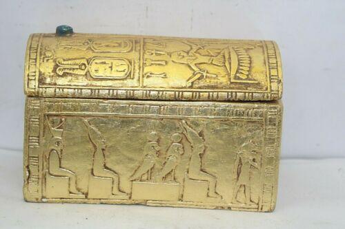 Pharaonic Ancient Egyptian Antique Jewelery Box 1896-1754 BC