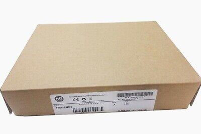 New Sealed Allen Bradley 1756-enbt Controllogix Ethernetip Comms Module Plc