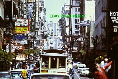 Original Slide, Powell Street in San Francisco (Cable Car, Omar Khayyam's (Powell Street In San Francisco)