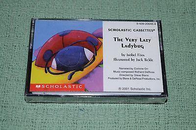 The Very Lazy Ladybug~Isobel Finn~Corinne Orr~Scholastic Cassettes~SEALED/NEW