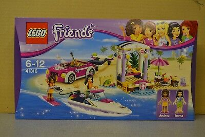LEGO Friends 41316 :  Andreas Speedboat Transporter Construction Toy