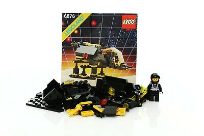 Lego Space Blacktron I Set 6876 Alienator 100% complete + instructions rare 1988