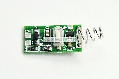 Laser Diode Power Supply Driver For 405nm 5mw-100mw Violetblue Lasers Circuit