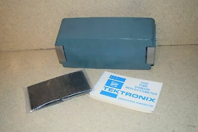 Tektronix 1502 Time Ddomain Reflectrometer Front Cover Manual