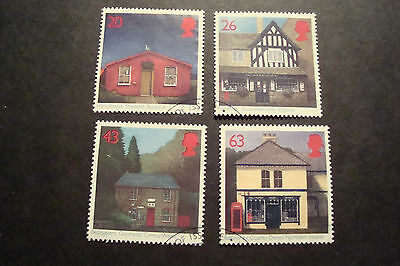 GB 1997 Commemorative Stamps~Sub-Post Offices~Fine Used Set~UK Seller