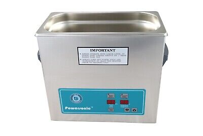Crest Powersonic Ultrasonic Cleaner 1 G Digital Heat Pc P360htpc-45 115v