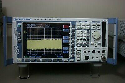 Rohde Schwarz Fsp13 Spectrum Analyzer 9khz-13.ghz Calibrated 30 Day Warranty