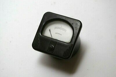 Vintage Beckman Small Panel Meter - Free Shipping