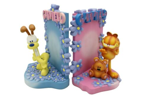 New Cartoon Anime Garfield and Odie Resin Bookstand Collectibles desktop in box.