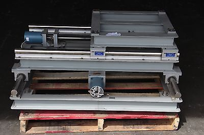Motorized Powered X-y Industrial Linear Stage 42x42 Base Table Stand