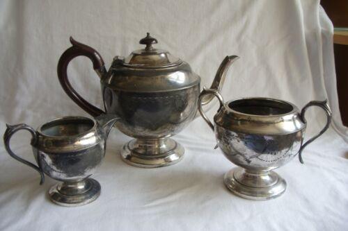 Antique / Vintage HF&Co EPBM Tea Set.