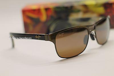 NEW Maui Jim HANG 10 sunglass Bronze POLARIZED HCL Bronze Lens Sunglasses