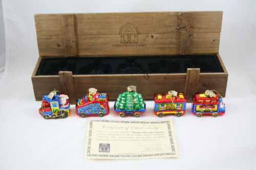 Thomas Pacconi Classics Train Ornaments
