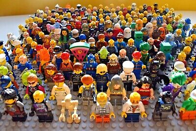 Lego 5x Random Mini figures Any Set Totally Random