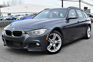 BMW Série 3 328i xDrive touring - M PACKAGE - INTÉRIEUR ROUGE -